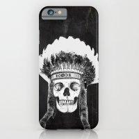 Skull Indian Headdress -… iPhone 6 Slim Case