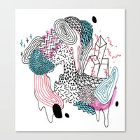 Gooey Canvas Print