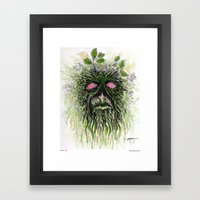Alone Out There Framed Art Print