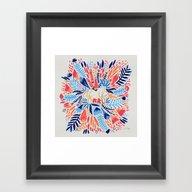 As If Framed Art Print