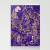 San Francisco! (Night) Stationery Cards