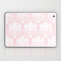 giving hearts giving hope: pink damask Laptop & iPad Skin