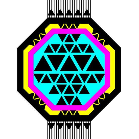 ::: Octagonal ::: Art Print