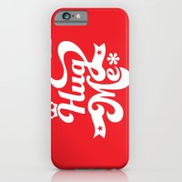 iPhone & iPod Case featuring hug me by manish mansinh