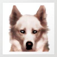 Devil Dog Art Print