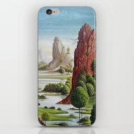 iPhone & iPod Skin featuring Valley Water by Chicca Besso
