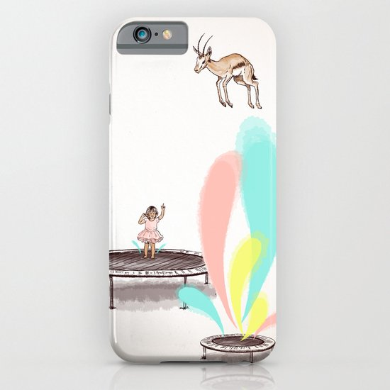 Gazelles Make Bad Friends iPhone & iPod Case