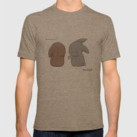 Edible Mens Fitted Tee Tri-Coffee SMALL