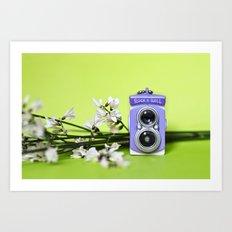 Mini camera Bi optics Art Print