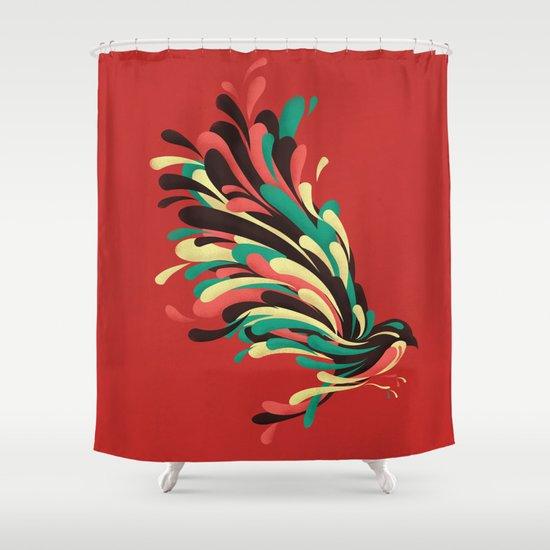 Avian Shower Curtain