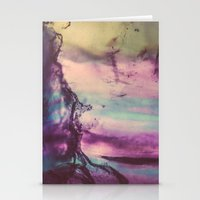 Purple Fluorite from our Earth Stationery Cards