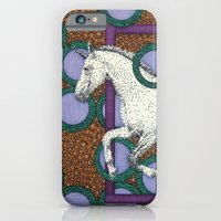 iPhone & iPod Case featuring Purple Unicorn by Aimee Alexander