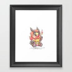 A Fire to be Kindled Framed Art Print