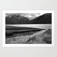 Eklutna Lake II Art Print