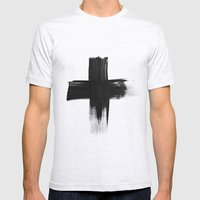 Cross Mens Fitted Tee Ash Grey SMALL