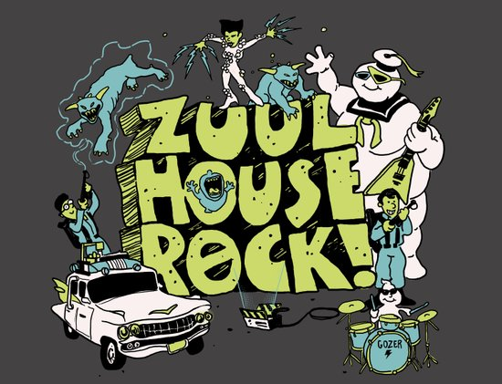 Zuul House Rock! Art Print