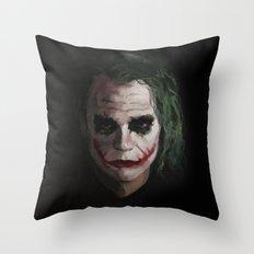 Joker1 Throw Pillow