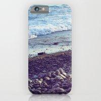 iPhone & iPod Case featuring sea coast by angelenka