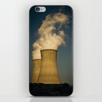 Toxic Towers iPhone & iPod Skin
