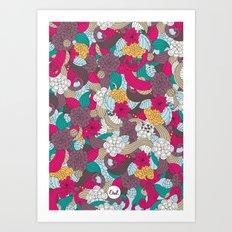 out mini garden Art Print