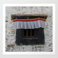 Potala Window Art Print