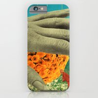 wake up and smell the flowers iPhone 6 Slim Case