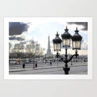 Parisian Mosaic - Piece … Art Print