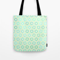 RING FLOAT PATTERN Tote Bag