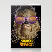 Chewbacca Swag Stationery Cards