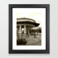Plaza De Rincon # 2 Framed Art Print