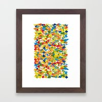 Auto Andy generated artwork 1 Framed Art Print