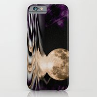 iPhone Cases featuring MOONSCAPE by Catspaws