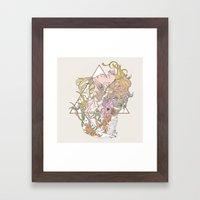 I N K Framed Art Print