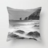 Water. Volcanic Rocks. M… Throw Pillow