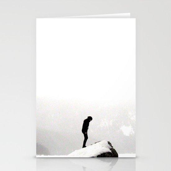 snowblind II. Stationery Card