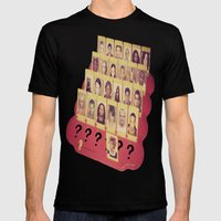 Guess Who Mens Fitted Tee Black SMALL