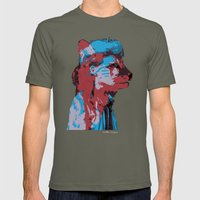 Bestial Mind Mens Fitted Tee Lieutenant SMALL
