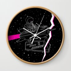 Space Journey Wall Clock