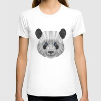 panda T-shirts featuring panda by Nir P