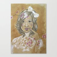 Kawaii Culture Canvas Print
