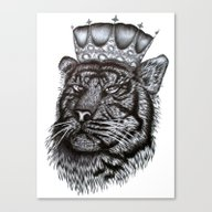 The Tiger King Canvas Print