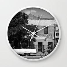 Man on a Bike Wall Clock