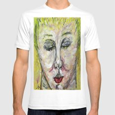 ISOLDA SMALL White Mens Fitted Tee