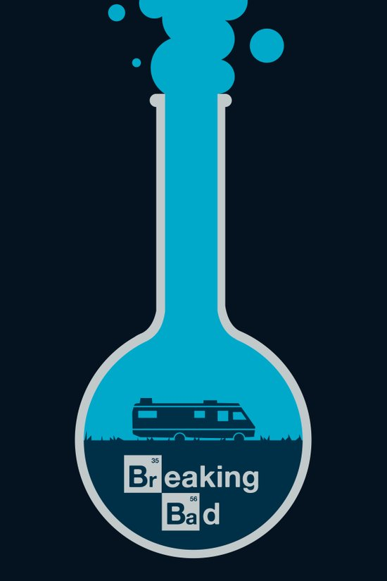 Breaking Bad - poster Canvas Print