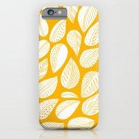 Yellow leaf iPhone 6 Slim Case