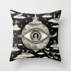 Some Sort Of Mystical Ex… Throw Pillow