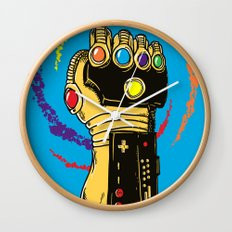 Infinity Power Wall Clock