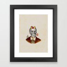 'Til death Framed Art Print