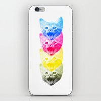 CMYKat iPhone & iPod Skin
