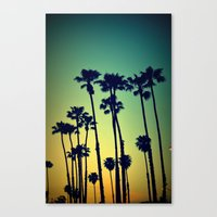 Ocean Blvd Cruisin Canvas Print